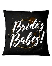 Bride's Babes Square Pillowcase thumbnail
