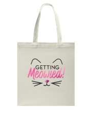 Getting Meowied Tote Bag thumbnail