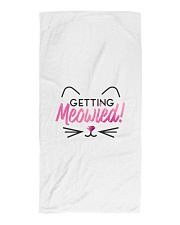 Getting Meowied Beach Towel thumbnail