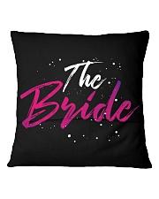 The Bride Gang Square Pillowcase back