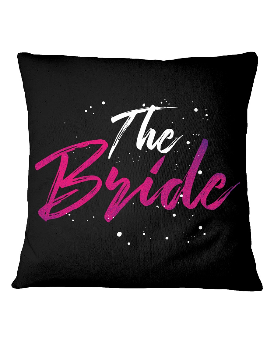 The Bride Gang Square Pillowcase