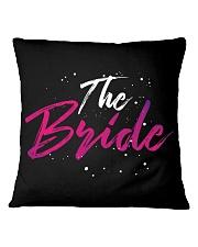 The Bride Gang Square Pillowcase thumbnail