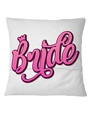 Bride Square Pillowcase back
