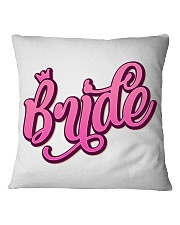 Bride Square Pillowcase thumbnail