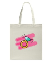 Check Out My Ring Tote Bag front