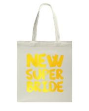 New Super Bride Tote Bag back
