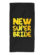 New Super Bride Beach Towel front