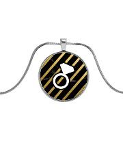 Marble Rings Metallic Circle Necklace thumbnail