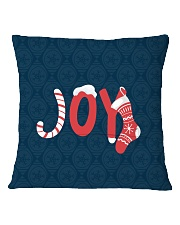 Joy Square Pillowcase back