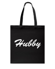 Hubby - Couple's Design Tote Bag thumbnail