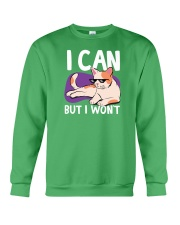 I Can But I Won't Crewneck Sweatshirt thumbnail