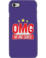 OMG No One Cares Phone Case tile
