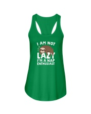 I Am Not Lazy I'm A Nap Enthusiast Ladies Flowy Tank thumbnail