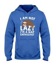 I Am Not Lazy I'm A Nap Enthusiast Hooded Sweatshirt front
