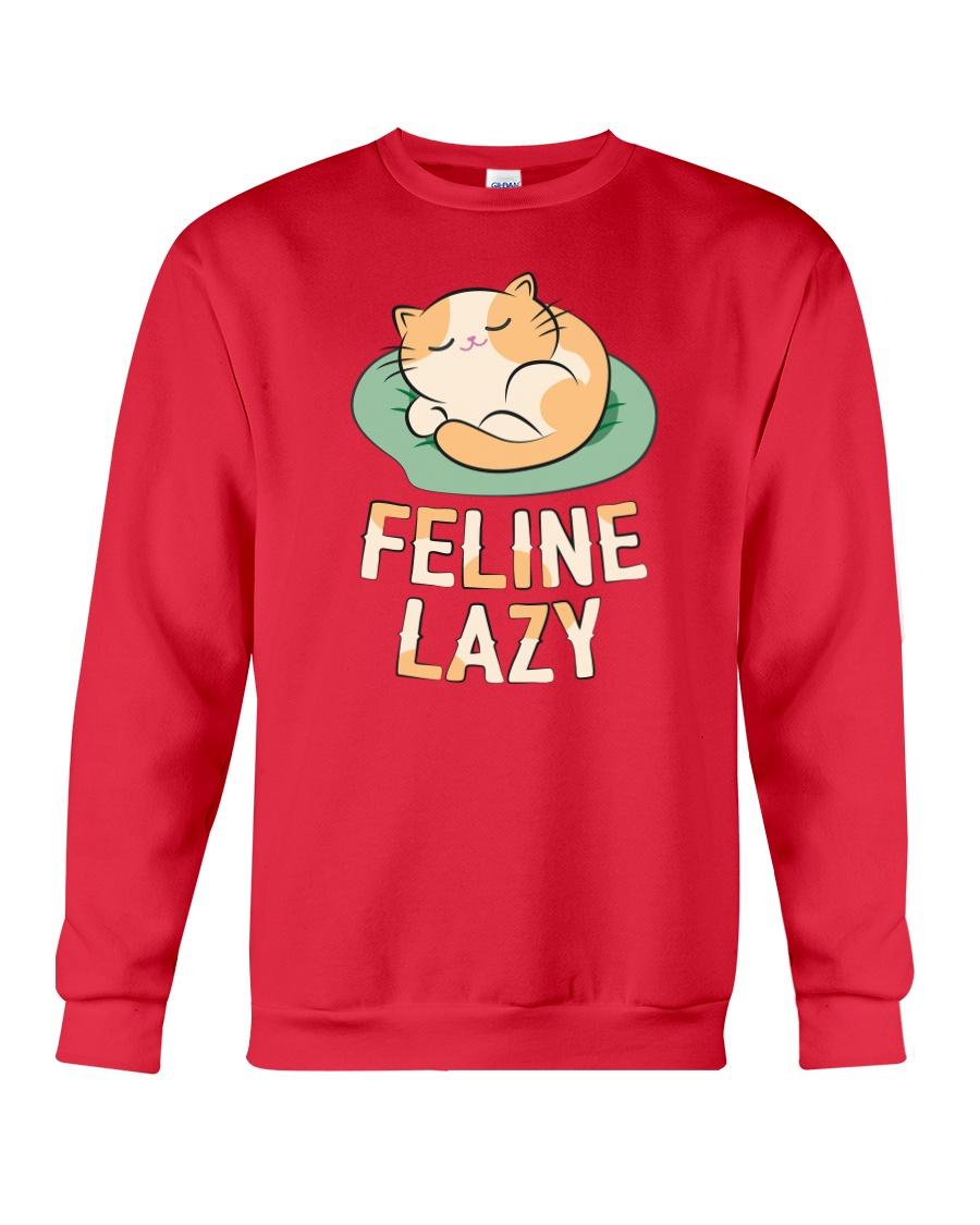 Feline Lazy Crewneck Sweatshirt