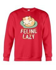 Feline Lazy Crewneck Sweatshirt thumbnail