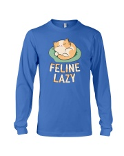 Feline Lazy Long Sleeve Tee thumbnail