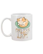 Feline Lazy Mug back