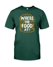 Where The Food At Premium Fit Mens Tee thumbnail