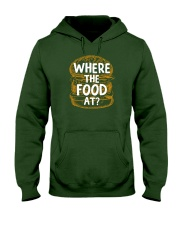 Where The Food At Hooded Sweatshirt thumbnail