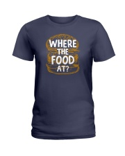 Where The Food At Ladies T-Shirt thumbnail