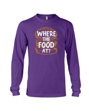 Where The Food At Long Sleeve Tee thumbnail