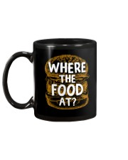 Where The Food At Mug back