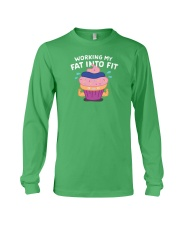 Working My Fat Into Fit Long Sleeve Tee thumbnail