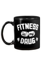 Fitness Is My Drug Mug back