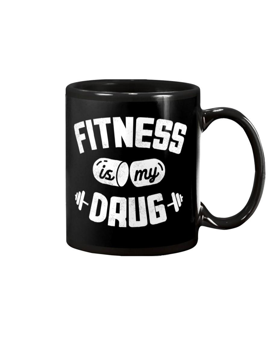 Fitness Is My Drug Mug
