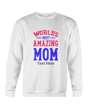 Personalized gifts for Mom Crewneck Sweatshirt thumbnail