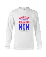Personalized gifts for Mom Long Sleeve Tee thumbnail