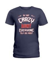 I'm That Crazy Aunt Ladies T-Shirt front