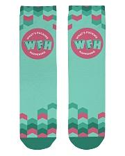 WFH - What's Fucking Happening Crew Length Socks thumbnail