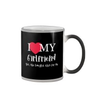 I Love My Girlfriend - Yes She Bought This For Me Color Changing Mug thumbnail