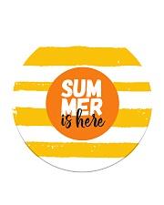 Summer is here Circle Coaster thumbnail