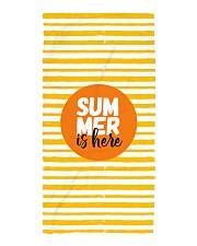 Summer is here Beach Towel thumbnail