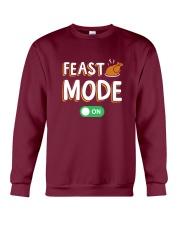 Feast Mode On Crewneck Sweatshirt thumbnail