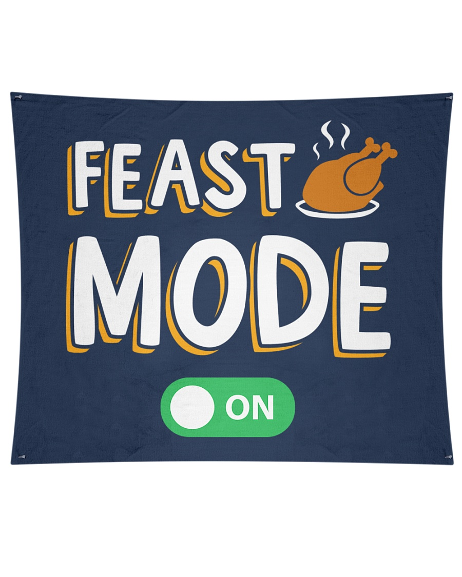 """Feast Mode On Wall Tapestry - 60"""" x 51"""""""
