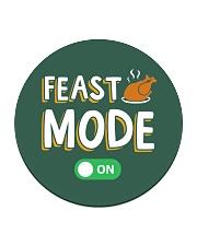 Feast Mode On Circle Coaster thumbnail