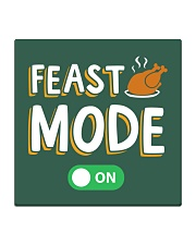 Feast Mode On Square Coaster thumbnail