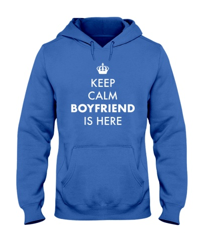Keep Calm Boyfriend is Here