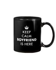 Keep Calm Boyfriend is Here Mug thumbnail