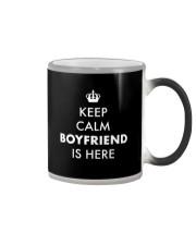 Keep Calm Boyfriend is Here Color Changing Mug thumbnail