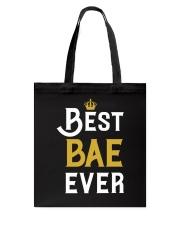Best Bae Ever Tote Bag thumbnail
