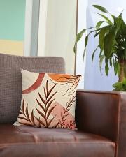 Terracotta Garden Square Pillowcase aos-pillow-square-front-lifestyle-03