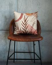 Terracotta Garden Square Pillowcase aos-pillow-square-front-lifestyle-04
