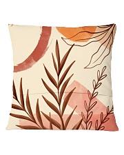 Terracotta Garden Square Pillowcase back