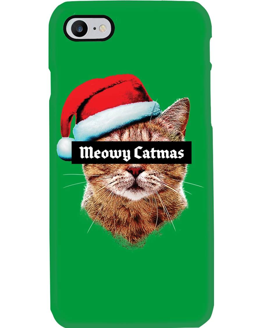 Meowy Catmas Phone Case