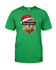 Meowy Catmas Classic T-Shirt front